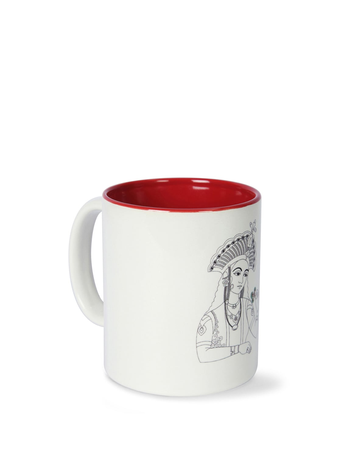 Neo Nawab Royally Hers Ceramic Coffee Mug - India Circus