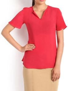Red Blush Formal Top - Kaaryah