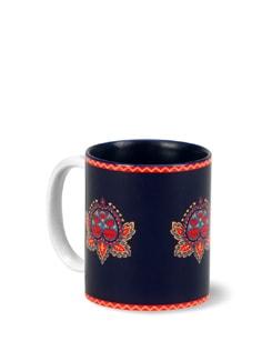 Floral Stamps Coffee Mug - India Circus