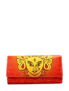 Durga Graffiti Wallet - Mad(e) In India