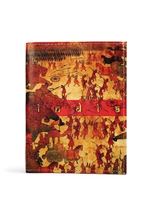 Ancient Battle Passport Holder - Mad(e) In India