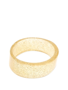 Sparkling Gold Bangle - Blend Fashion Accessories