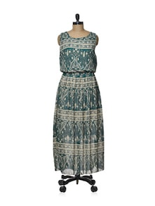 Paisley Print Maxi Dress - TREND SHOP