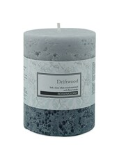 Driftwood Scented Pillar Candle - Rosemoore