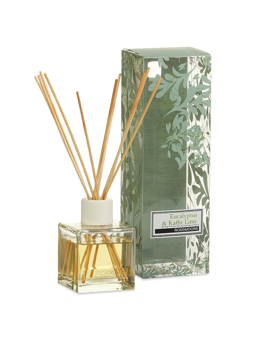 Eucalyptus & Kaffir Lime Scented Reed Diffuser - Rosemoore