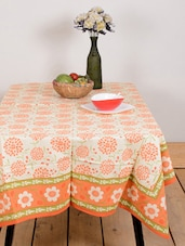 Gorgeous Flower Print Table Cover - Ocean Collections