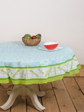 Grasshopper Print Round Table Cover - Ocean Collections