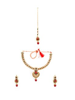 Rajwada necklace set - OARS 7884