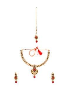 Rajwada necklace set - OARS 7884