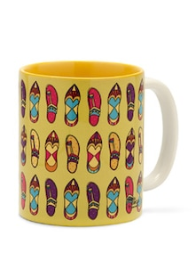 Quirky Chappal Coffee Mug - India Circus