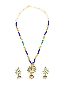 Dainty Multicolour Necklace Set - KSHITIJ