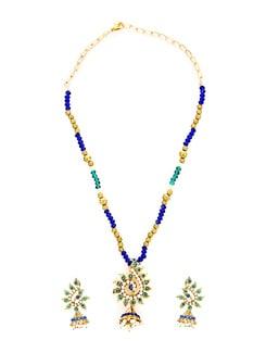 Dainty Multicolour Necklace Set - KSHITIJ