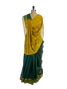 Andhra Cotton Silk Saree - Spatika Sarees