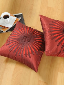 Red Cushion Covers - Shahenaz Home Shop
