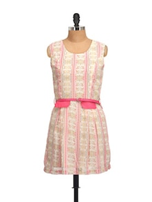 Pink Sleeveless Dress - QUEST