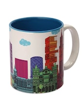 London Printed Ceramic Coffee Mug - The Elephant Company