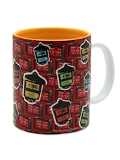 Taxi Meter Printed Ceramic Coffee Mug - The Elephant Company