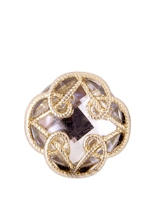 White And Gold Ring - Pipa+Bella
