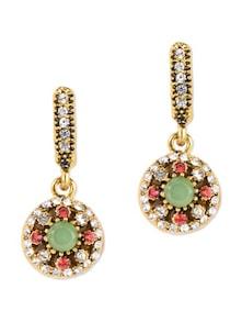 Multicolour Beads Design Dangler Earrings - Zara Deals