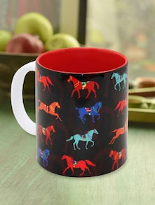 Stallion Horseshoe Coffee Mug - The Elephant Company
