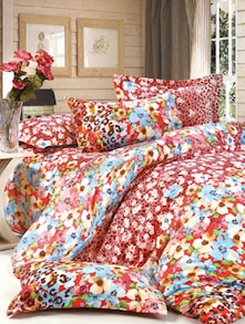 Multicolour  Floral Print Bedcover Set - Story @ Home