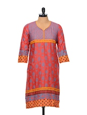 Block-printed Cotton Kurti - Facon