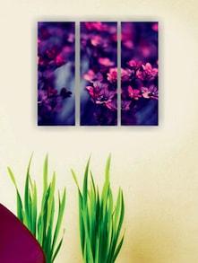 Beautiful Flowers Wall Art (3 Pc) - Zeeshaan