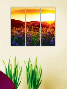 Rising Sun Wall Art (3 Pc) - Zeeshaan