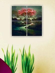 The Tree Of Life Wall Art (4Pc) - Zeeshaan