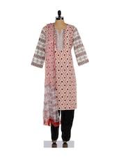 Traditional Print Salwar Suit - KILOL