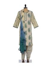 Elegant Ethnic Print Salwar Suit - KILOL