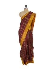 Maroon Kanchipuram Vasundhra Pattu Silk Saree - Pothys