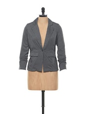 Dark Grey Jacket - Femella