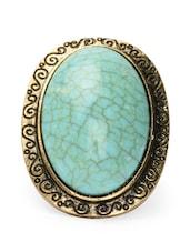 Turquoise Blue Ring - Toniq