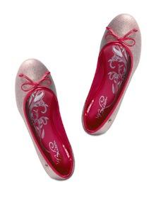 Shimmery Pink Ballerinas - La Briza
