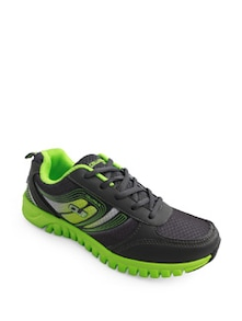 Gorgeous Lime Green Cushioned Sneakers - Columbus