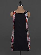 Ikat Printed Side Panel Dress - Concepts