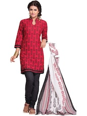 Classy Unstitched Dress Material - Ethnic Vibe