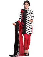 Fusion Print Dress Material - Ethnic Vibe
