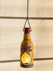 Bottle Shaped Hanging Light Holder - ExclusiveLane