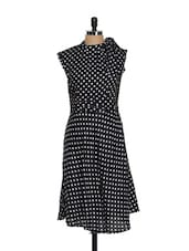 Lovely Polka Dotted Dress - AKYRA