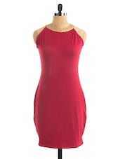 Red Soul Bodycon Dress - Miss Chase