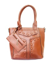 Elegant Brown Handbag