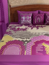 Bedroom Soft Furnishing Collection With Indianised Print - HOUSE THIS