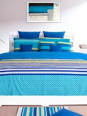 Striped Cotton Comforters (set Of Single And Double) - HOUSE THIS