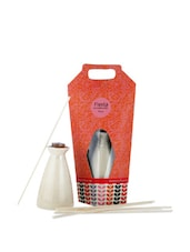 Reed Diffuser With Rose And Orange Oil And 7 Pieces Of Reed - Fragrance World India