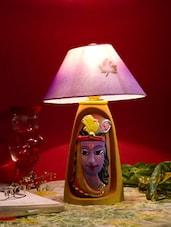 Funky Krishna Terracotta Table Lamp Shade - Bdesi