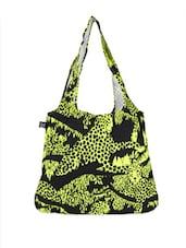 Tiger Print Yellow And Black Tote Bag - Be... For Bag