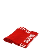 Red And White Blanket - Pluchi