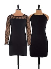 Combo Of Stretch Black Dress  And  LBD - Xniva